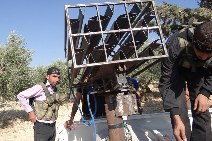 syria-homemade-weapons