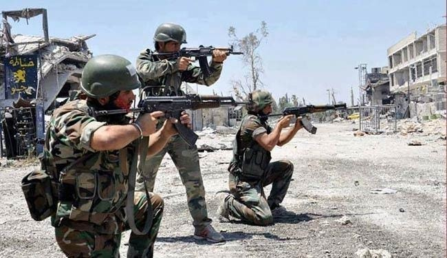 Over 500 militants lay down arms, surrender Syrian army