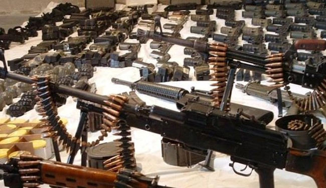 VIDEO: Syrian Army Discovers US-Made Arms Storage in Aleppo
