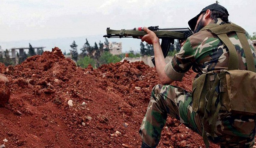 Syrian Army Units Attacks Terrorists' Command Center in Dara'a City