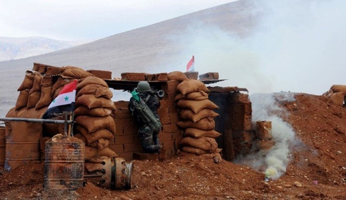 ISIS Fails again to Break through Syrian Army Positions East of Homs
