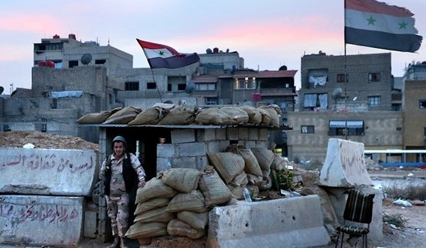 VIDEO: Syrian Army Wins Back Key Town in Eastern Ghouta in Damascus