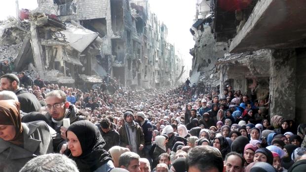 raqqa refugees