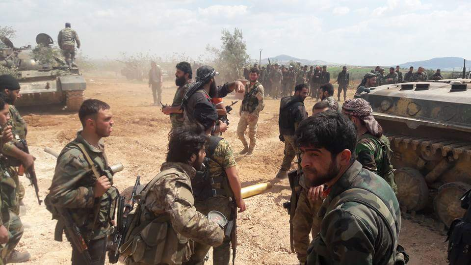 Syrian-Army-troops-in-northern-Hama