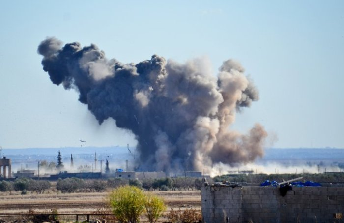US-led coalition airstrikes against DAESH