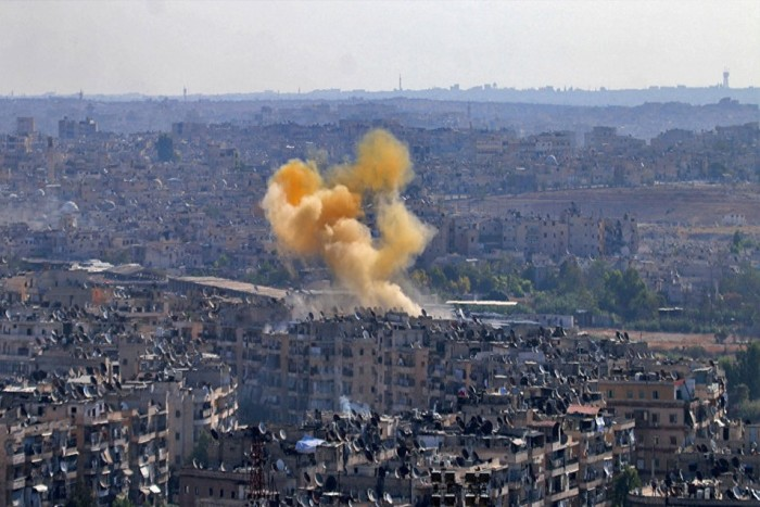 ALEPPO VIDEO: At Least 3 Dead & 20 Injured in Militants' Shelling