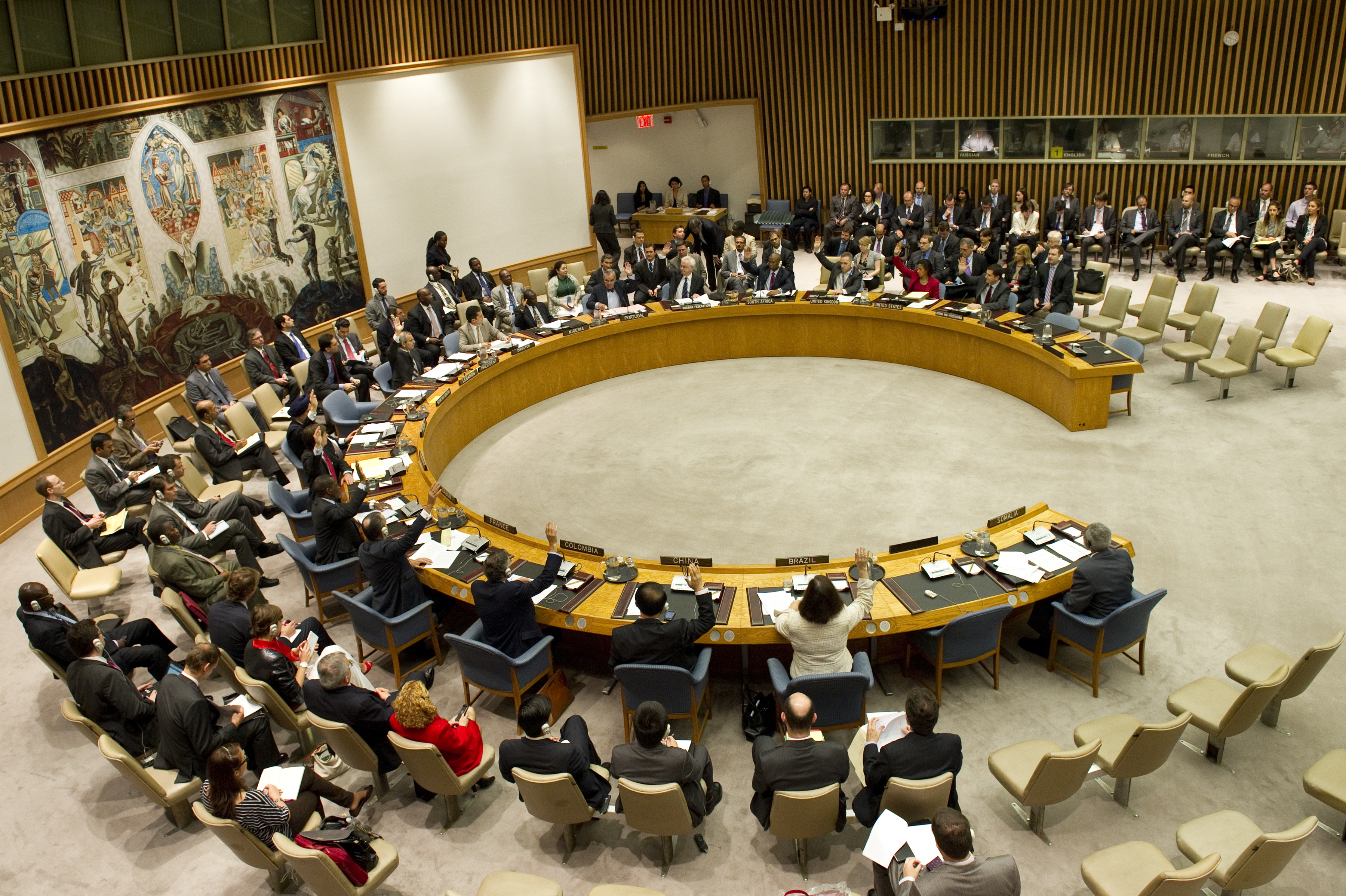 Security Council Meeting: The situation in Somalia