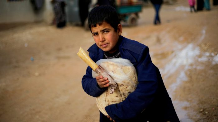 Mideast Syria Aleppo Displaced